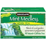 BIGELOW MINT MEDLEY TEA