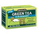BIGELOW GREEN TEA WITH BLUEBERRY