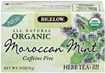 BIGELOW GREEN TEA WITH MINT 28CT