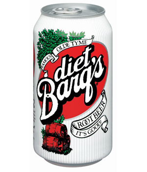 DIET BARQ'S ROOT BEER 12OZ CANS 24CT
