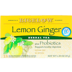 BIGELOW LEMON GINGER (28CT)