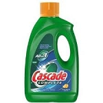CASCADE DISHWASHER LIQUID 45OZ