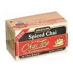 BIGELOW SPICED CHAI TEA  6CT CASE