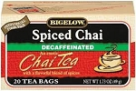 BIGELOW DECAF SPICED CHAI  (20CT)