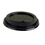 12/20OZ BLACK DOME LIDS 1000CT