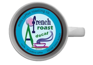 MILLS DECAF FRENCH ROAST 2.5OZ  24CT