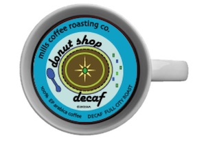DECAF DONUT SHOP PODS 18CT