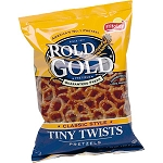 SNACKSIZE TINY TWISTS ROLD GOLD PRETZELS 88CT