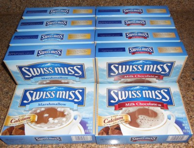 SWISS MISS HOT CHOCOLATE 50CT