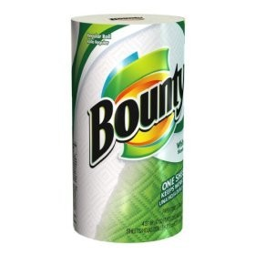BOUNTY PAPER TOWELS 12 ROLLS 88 2PLY SHEETS PER ROLL