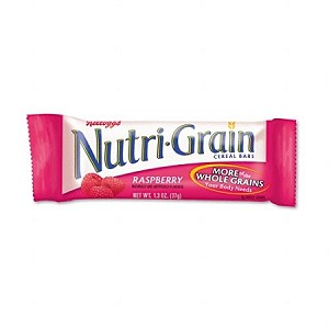 NUTRA GRAIN BAR RASPBERRY 12/8CT CASE