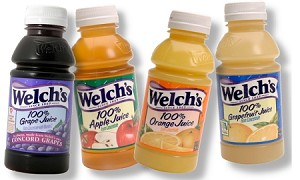 WELCH'S APPLE CRANBERRY JUICE 10OZ PLASTIC BOTTLES 24CT